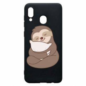 Phone case for Samsung A20 Sloth