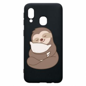 Phone case for Samsung A40 Sloth