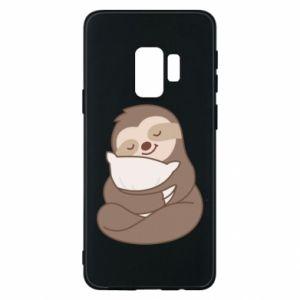 Etui na Samsung S9 Leniwiec z poduszką
