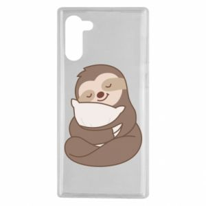 Samsung Note 10 Case Sloth