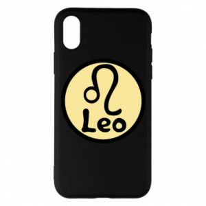 Phone case for iPhone X/Xs Leo