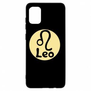 Samsung A31 Case Leo