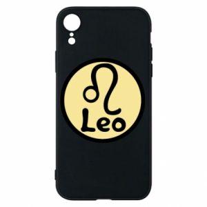 Etui na iPhone XR Leo - PrintSalon