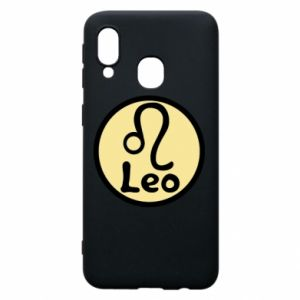 Phone case for Samsung A40 Leo