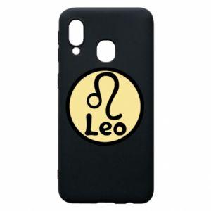Etui na Samsung A40 Leo - PrintSalon