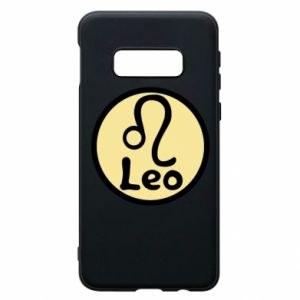 Samsung S10e Case Leo