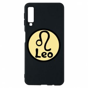 Phone case for Samsung A7 2018 Leo