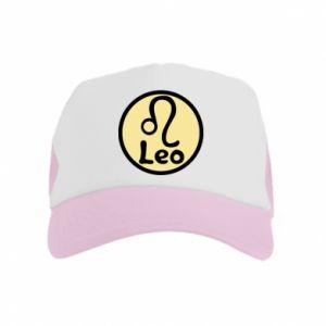 Kid's Trucker Hat Leo