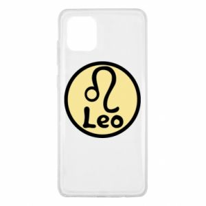 Samsung Note 10 Lite Case Leo