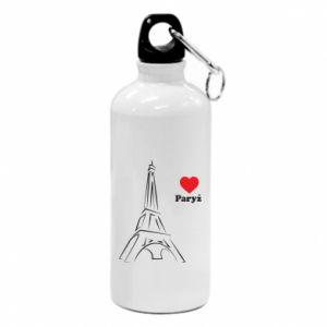 Bidon turystyczny Paryżu, kocham cię