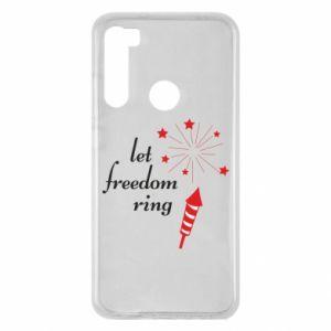 Etui na Xiaomi Redmi Note 8 Let freedom ring