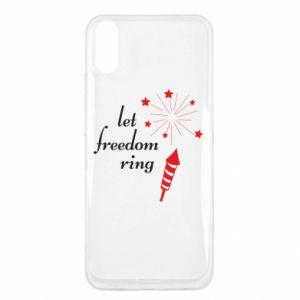 Etui na Xiaomi Redmi 9a Let freedom ring