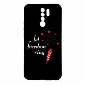 Etui na Xiaomi Redmi 9 Let freedom ring