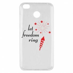 Etui na Xiaomi Redmi 4X Let freedom ring