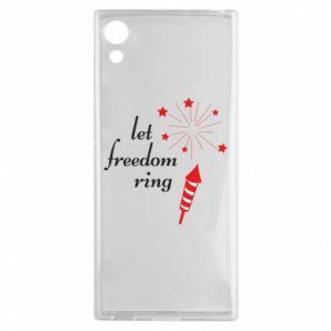 Sony Xperia XA1 Case Let freedom ring