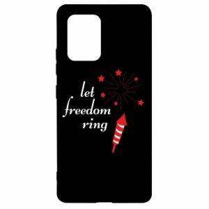 Etui na Samsung S10 Lite Let freedom ring