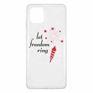 Etui na Samsung Note 10 Lite Let freedom ring