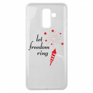 Etui na Samsung J8 2018 Let freedom ring