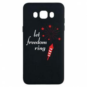 Etui na Samsung J7 2016 Let freedom ring
