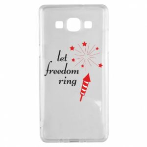 Samsung A5 2015 Case Let freedom ring