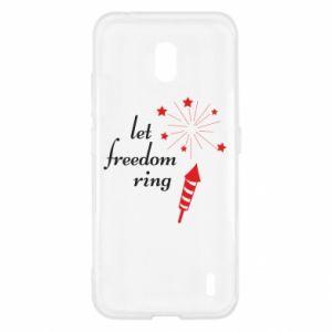 Etui na Nokia 2.2 Let freedom ring