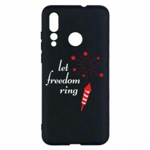 Etui na Huawei Nova 4 Let freedom ring