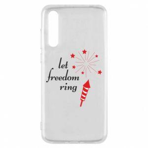 Etui na Huawei P20 Pro Let freedom ring