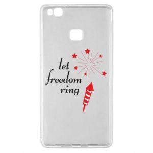 Etui na Huawei P9 Lite Let freedom ring