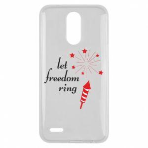 Etui na Lg K10 2017 Let freedom ring