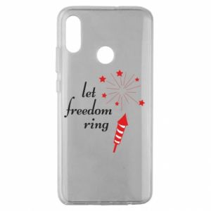 Huawei Honor 10 Lite Case Let freedom ring