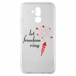 Etui na Huawei Mate 20 Lite Let freedom ring