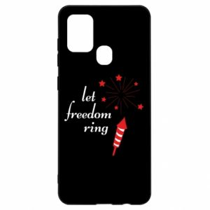 Etui na Samsung A21s Let freedom ring