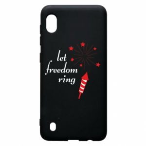 Samsung A10 Case Let freedom ring