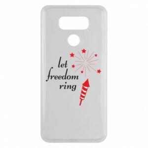 Etui na LG G6 Let freedom ring