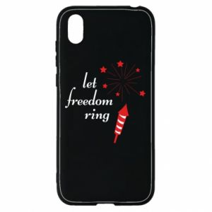 Huawei Y5 2019 Case Let freedom ring