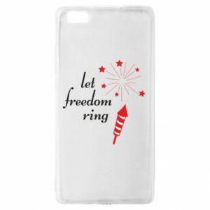 Etui na Huawei P 8 Lite Let freedom ring