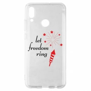 Huawei P Smart 2019 Case Let freedom ring