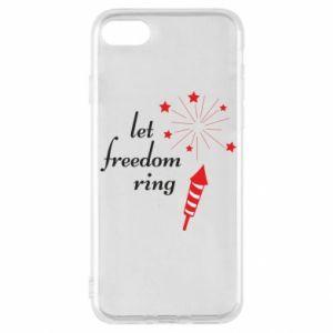 Etui na iPhone SE 2020 Let freedom ring