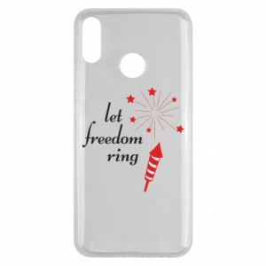 Huawei Y9 2019 Case Let freedom ring