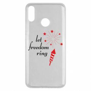 Etui na Huawei Y9 2019 Let freedom ring