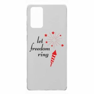 Etui na Samsung Note 20 Let freedom ring