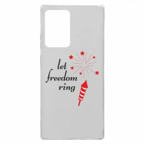 Etui na Samsung Note 20 Ultra Let freedom ring