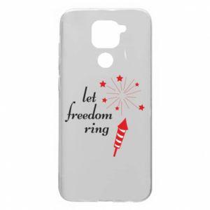 Etui na Xiaomi Redmi Note 9/Redmi 10X Let freedom ring