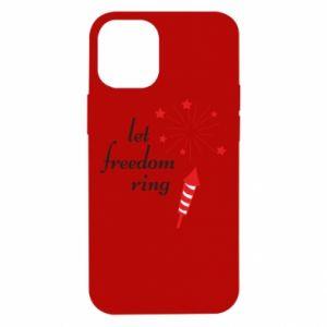 Etui na iPhone 12 Mini Let freedom ring