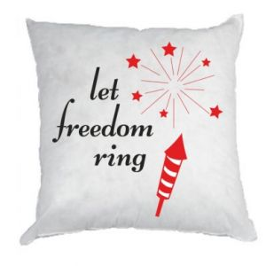 Poduszka Let freedom ring
