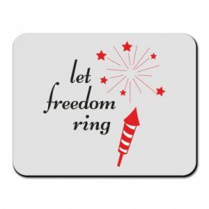 Podkładka pod mysz Let freedom ring