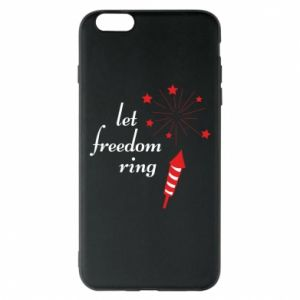 Etui na iPhone 6 Plus/6S Plus Let freedom ring