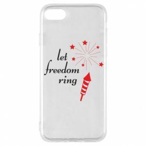 Etui na iPhone 7 Let freedom ring