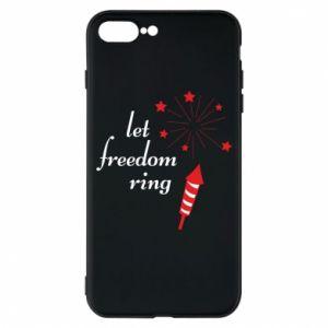 Etui do iPhone 7 Plus Let freedom ring