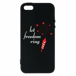 Etui na iPhone 5/5S/SE Let freedom ring